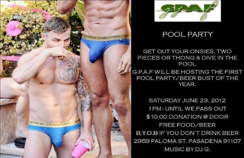 GPAF Pool Party-Saturday, June 23