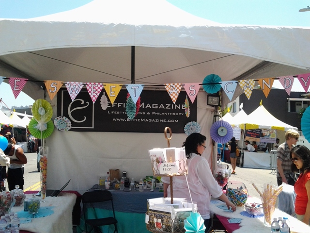 Effie Magazine Booth at the 19th Annual Los Feliz Village Street Fair