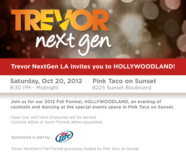 Trevor Project NextGen Hollywoodland