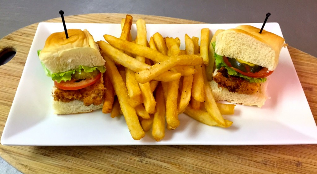 Downtown Johnny's – Fried Chicken Sliders & Fries 2