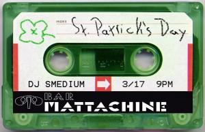 Bar Mattachine - Saint Patricks Day Flyer