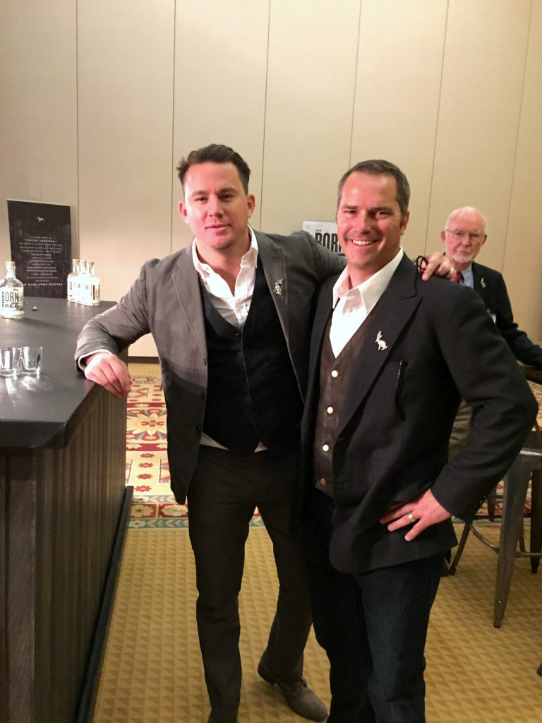 Channing Tatum & Tim Harland in Tasting Room 1